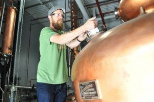 Head Distiller Graham Hamblett