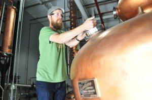 Head Distiller Graham Hamblett