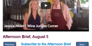 Afternoon Brief, August 5