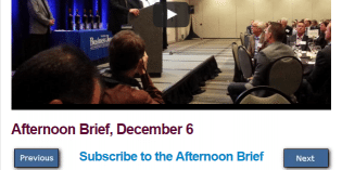 Afternoon Brief, December 6
