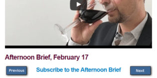 Afternoon Brief, February 17