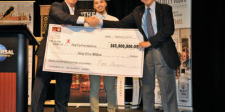 Republic National Distributing Company Takes Center Stage and Donates $65 Million to the Step Up for Students Scholarship Program