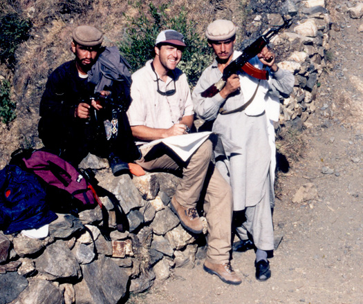 Kevin Pogue in Pakistan