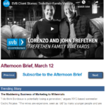 Afternoon Brief, March 12