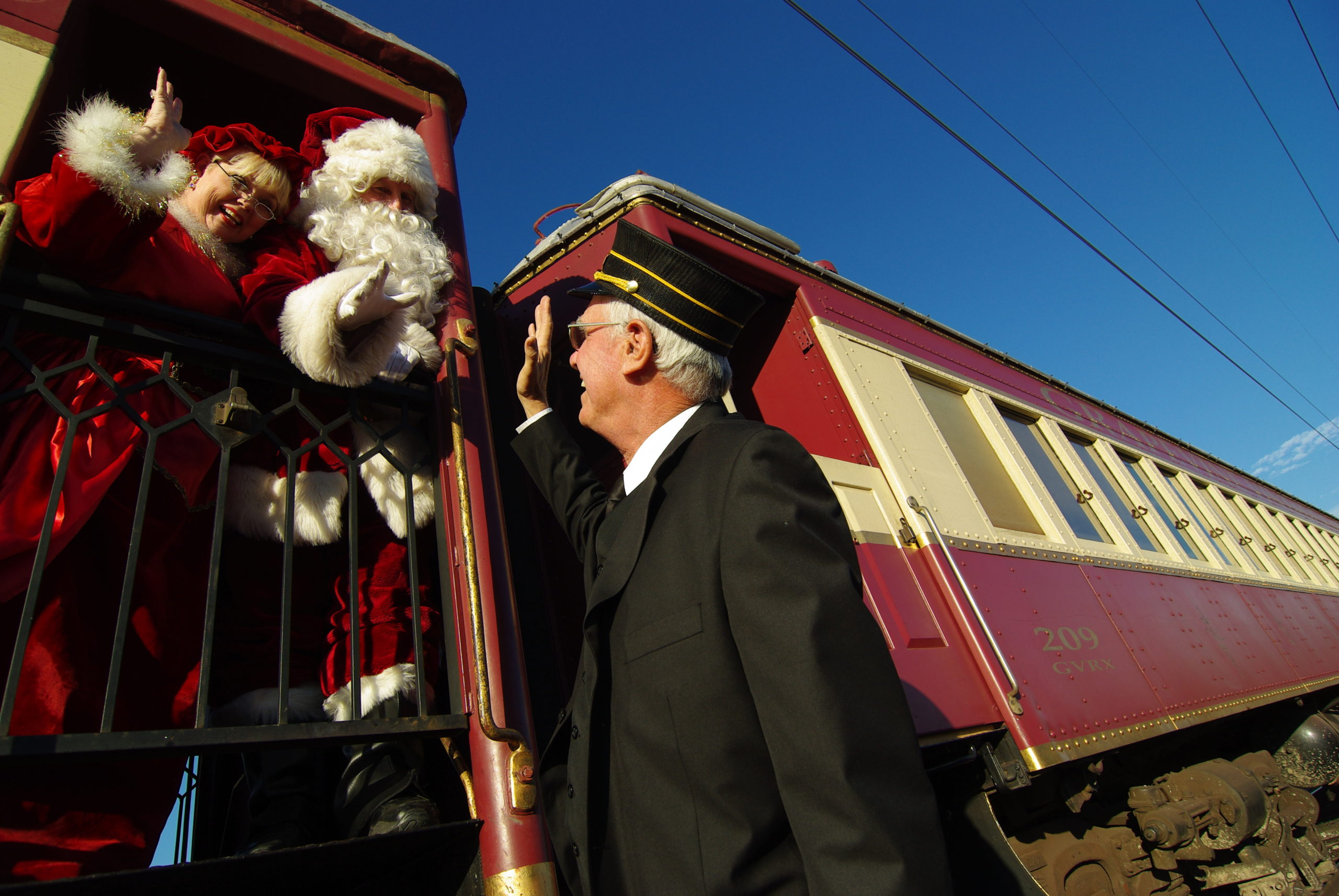 Christmas Wine Train Tickets on Sale Tuesday, September 28 10 A.M.